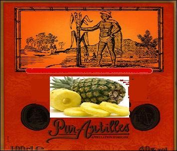 Quel alcool servira pour la marinade des tranches d'ananas ?