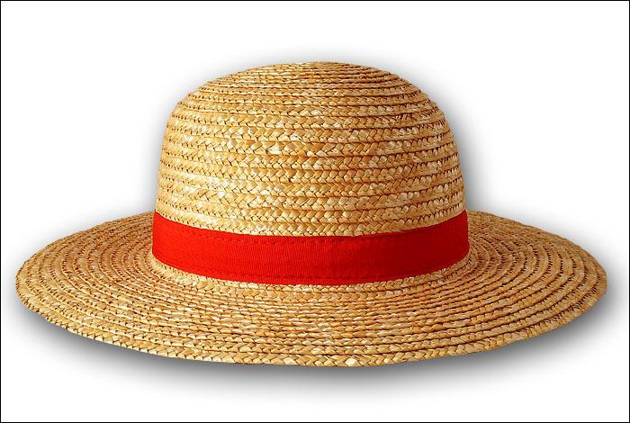 Comment s'appelle le chapeau de luffy ?