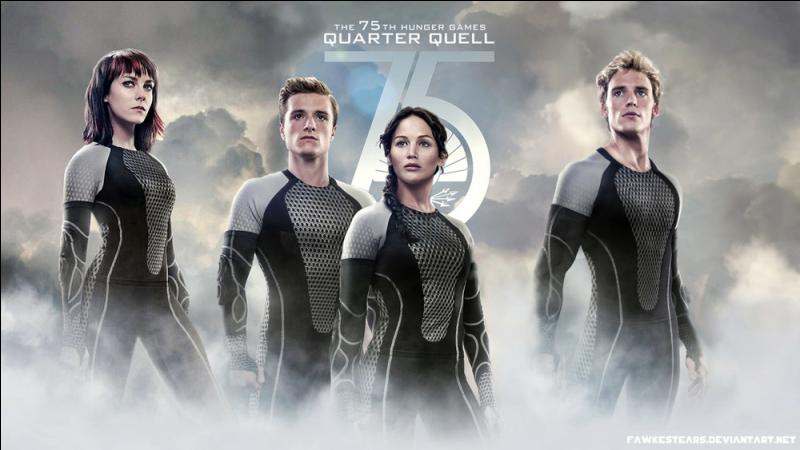 Dans le 75e Hunger Games, avec qui est Finnick ?