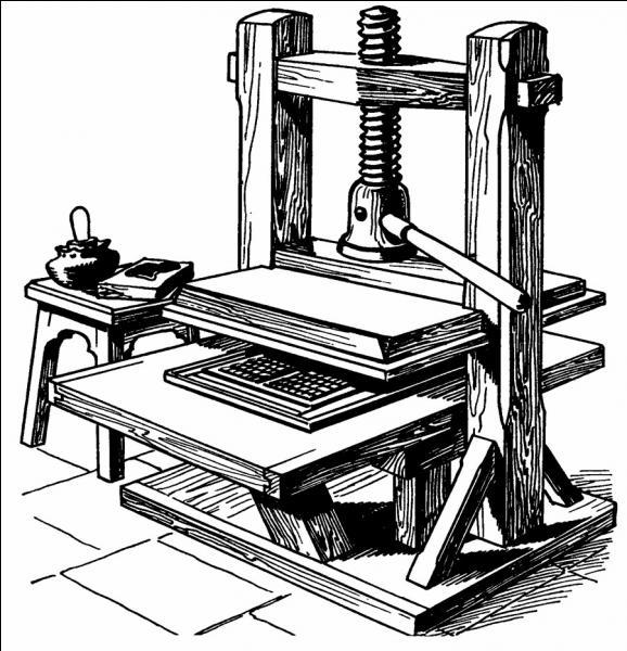 Qui a inventé l'imprimerie ?