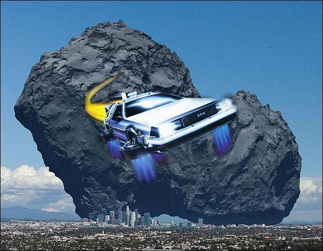 Maintenant, allons vers le futur. En quelle année l'astéroïde 1950 DA aura-t-il une chance de heurter la Terre ?
