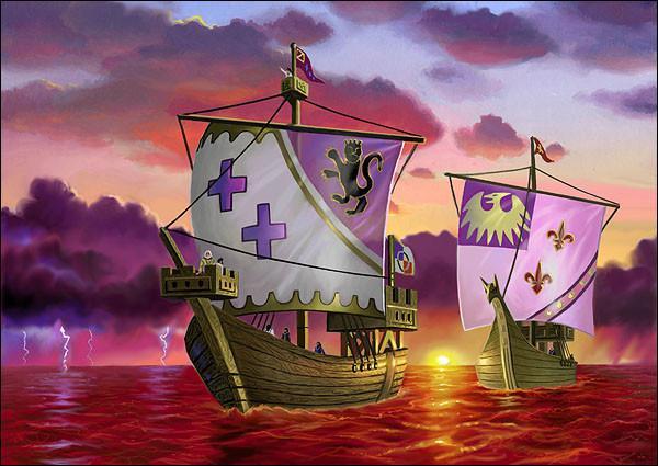 De quand date l'arrivée de Christophe Colomb en Amérique ?