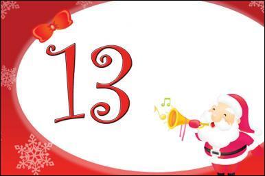 """Sa fête est le 13 décembre, Balavoine lui disait """" Toute la ville t'appartientTu le sais bien"""" :"""