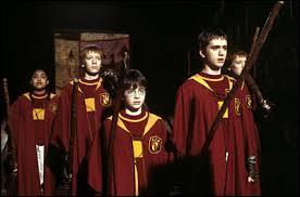 Pour laquelle des quatre équipes Harry joue-t-il ?