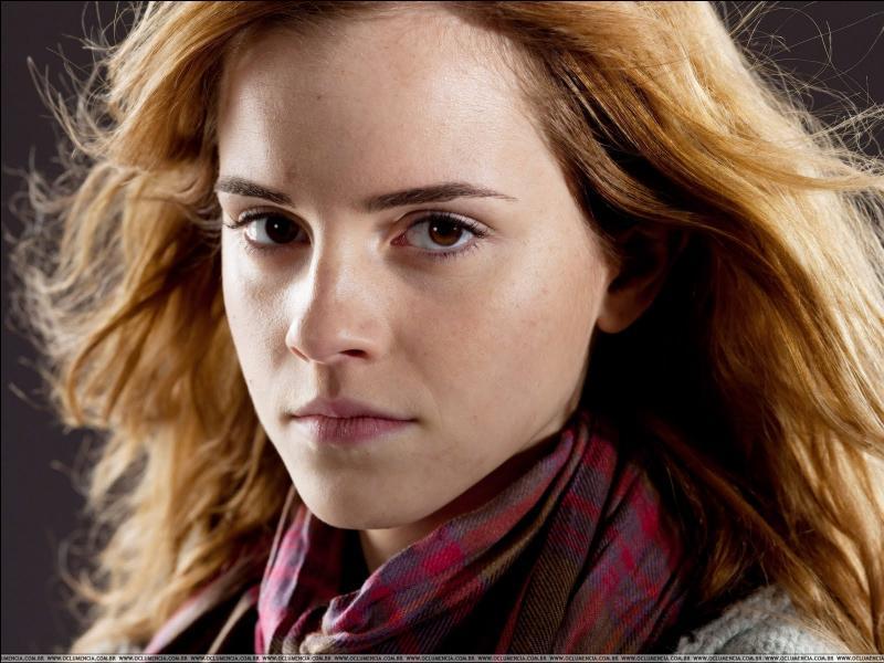 Dans  Harry Potter et les Reliques de la mort , avec qui va-t-elle se fiancer à la fin ?