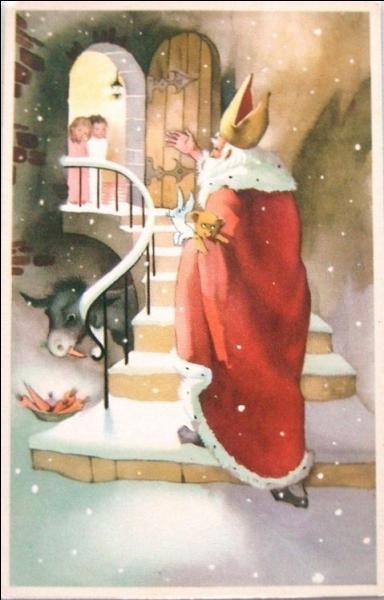 Quel personnage ayant existé, et fêté le 6 décembre, a inspiré le Père Noël ?