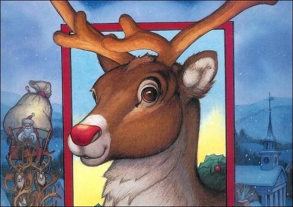 Le renne au nez rouge est apparu en 1939, c'est lui qui servira de guide au Père-Noël, quel est son nom ?