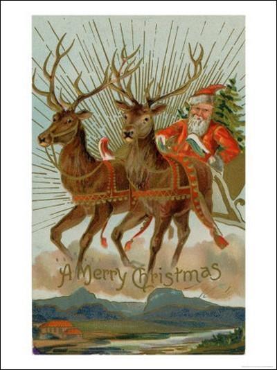 Lequel de ces noms ne correspond pas à un renne du Père Noël ?