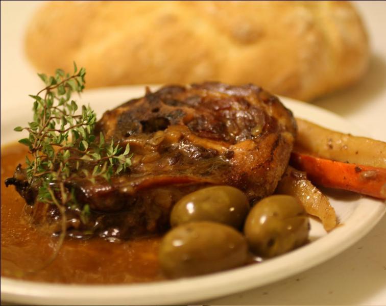 Typique de la cuisine de Montpellier, nous allons goûter une clapassade, à base de quoi est-elle faite ?