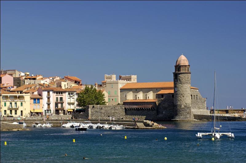 Et nous avons poussé notre balade jusqu'à Colioure, ville réputée pour ...