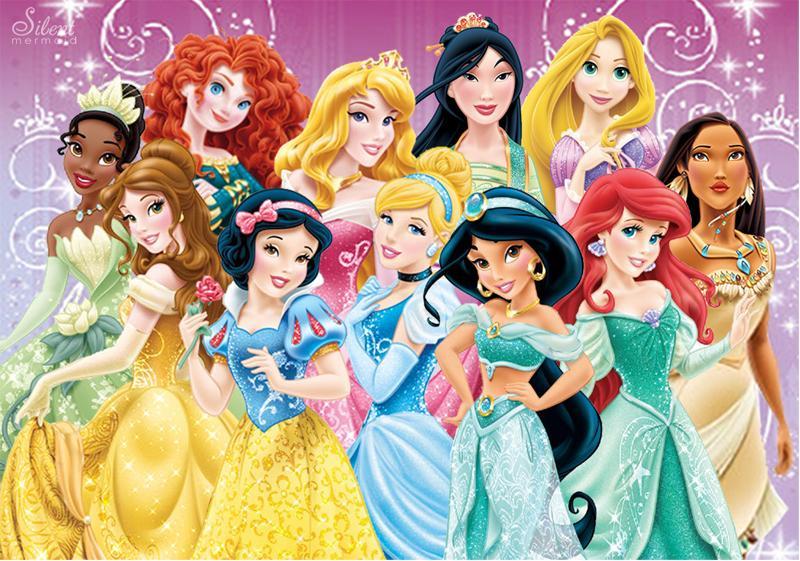 Retrouve la princesse Disney