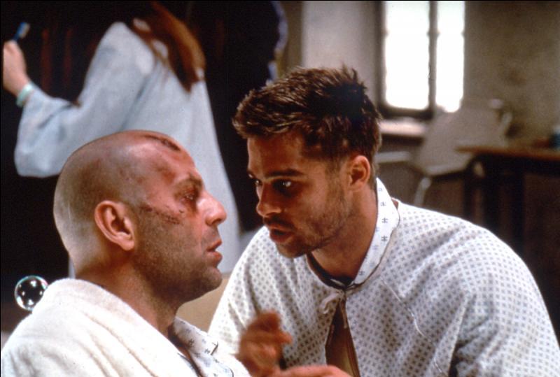 """Le film """"L'Armée des douze singes"""" réunit à l'écran Bruce Willis et Brad Pitt."""
