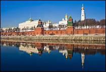 Laquelle de ces rivières traverse Moscou ?