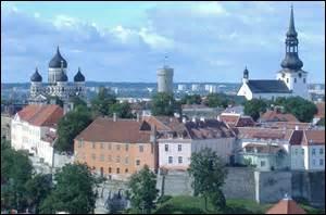 Laquelle de ces villes est la capitale de l'Estonie ?