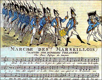 L'hymne national de la France, La Marseillaise, a porté plusieurs noms, citez-en un parmi les trois réponses proposées !