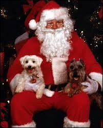 Au départ, de quelle couleur était le père Noël ?
