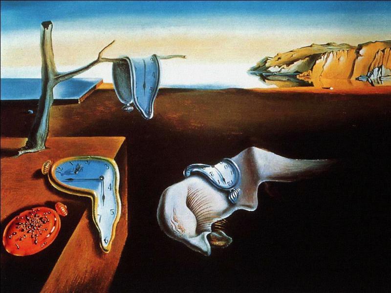 """Qui a peint """"Persistance de la mémoire"""" ?"""