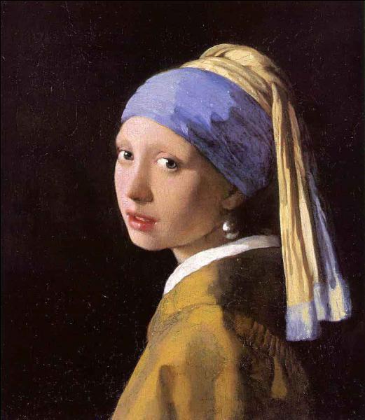 """Qui a peint """"Jeune fille à la perle"""" ?"""