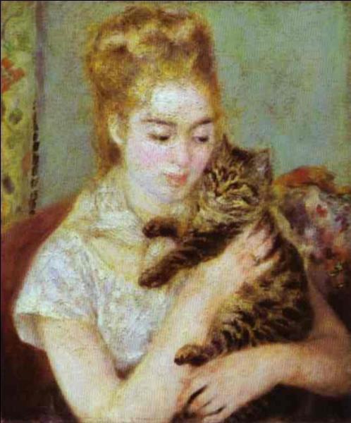 """Qui a peint """"La femme au chat"""" ?"""