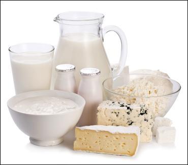 Il faut manger trois produits laitiers par jour, c'est très bon pour la santé.