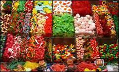 Les bonbons sont très nourrissants et très bons pour la santé.