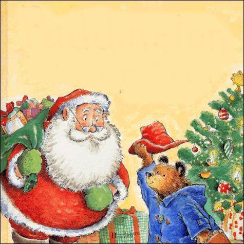 A qui parle le Père Noël ?