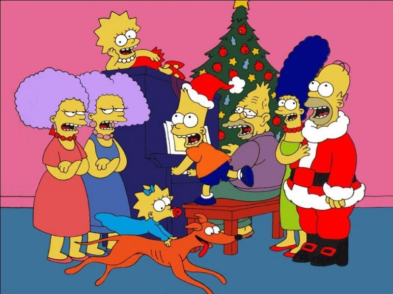 """Mais qui s'appelle """"Petit Papa Noël chez les Simpson ?"""
