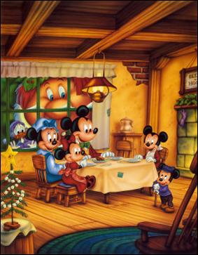 Mickey a invité ses neveux pour fêter Noël, qui sont-ils ?