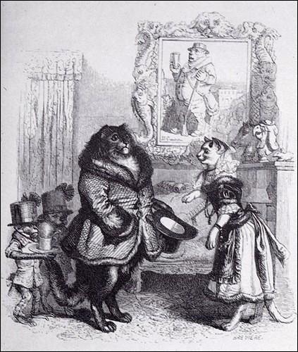 """Quel célèbre écrivain né à Tours, est l'auteur de """"Peines de cœur d'une chatte anglaise"""", nouvelle qui fait partie des """"Scènes de la vie privée et publique des animaux"""", édité par Pierre-Jules Hetzel en 1841 ?"""