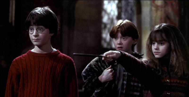 Pour ouvrir une porte verrouillée, Hermione utilise la formule :