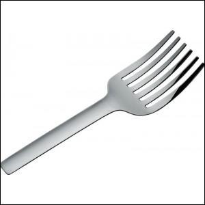 A quoi peut bien servir cette large fourchette ?