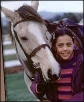 Comment s'appelle ce cheval ?