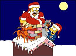 Qui est déguisé en renne du Père Noël sur cette image ?