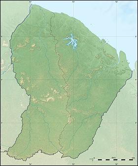 Dans quel continent se situe la région guyanaise ?