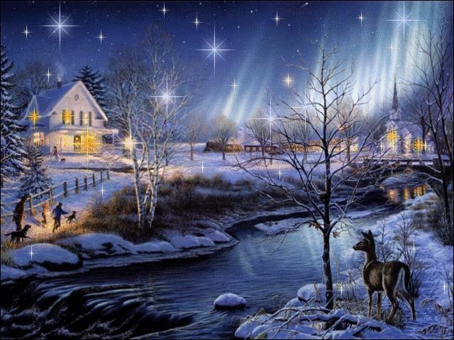 """""""Douce nuit, sainte nuit / Dans les cieux..."""""""