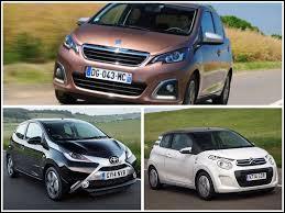 Comment appelle-t-on ces trois voitures ?