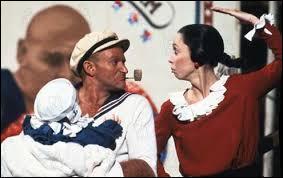 En 1980, quel comédien interprète le rôle de Popeye dans le film du même nom, inspiré du fameux dessin animé éponyme ?