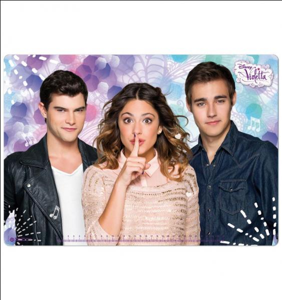 Quizz violetta quiz series tele violetta disney channel - Photo de leon de violetta ...