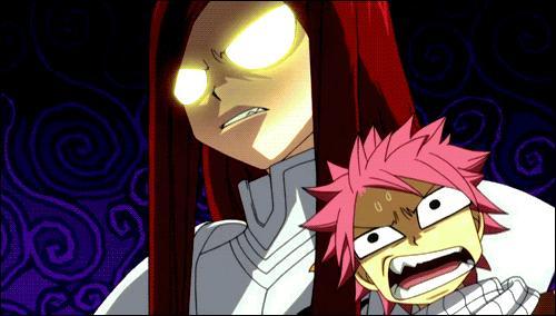 De qui Natsu a-t-il peur ?