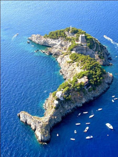 Cette magnifique île en forme de dauphin, c'est :