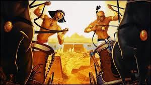 Le dessin animé se déroule en Égypte, où sont réduits en esclavage :