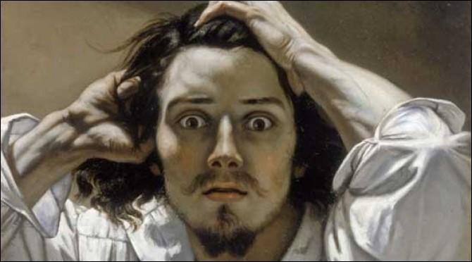 Il s'agit ici d'un autoportrait réalisé en 1841, de quel artiste s'agit-il ?