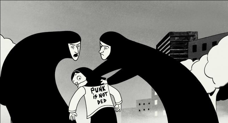 """""""Persepolis"""" est un long métrage d'animation franco-iranien sorti en 2007. Dans quelle ville se déroule principalement le film ?"""
