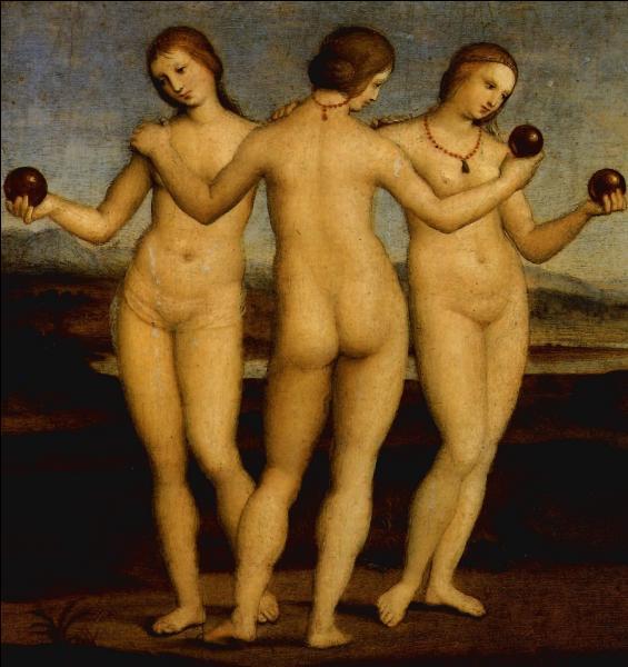 """""""Les Trois Grâces"""", peint par Raphaël en 1505 représentent :"""