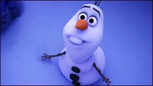Quelle personne est à l'origine de la création d'Olaf ?