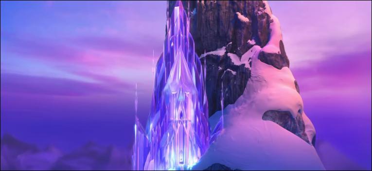sur quelle montagne se situe le palais de glace delsa