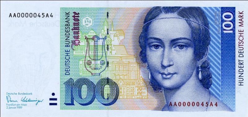 A quelle occasion fut créé le Deutsche Mark ?