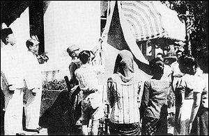 L'indépendance de l'Indonésie est-elle proclamée avant ou après celle de l'Inde ?