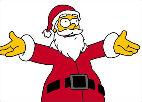 Le père Noël est enfin guéri. Il remercie Homer pour son travail et poursuit son chemin. Maintenant qu'Homer est libre, où va-t-il aller ?