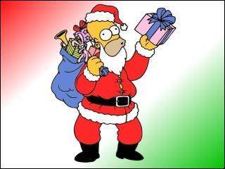 """Homer a enfin fini de distribuer tous les cadeaux à Springfield. Y a-t-il déjà eu des crossovers avec """"Les Simpson"""" ?"""